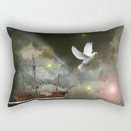 Sky Voyager Rectangular Pillow