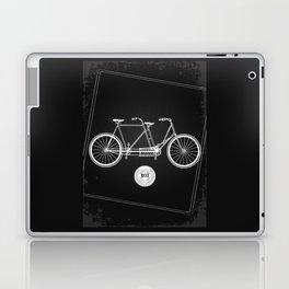vintage bicycle Laptop & iPad Skin