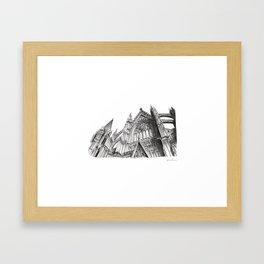Duomo di Colonia Framed Art Print