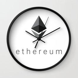 Ethereum Diamond Wall Clock