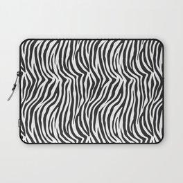 Zebra Stripes Wild Animal Print Laptop Sleeve