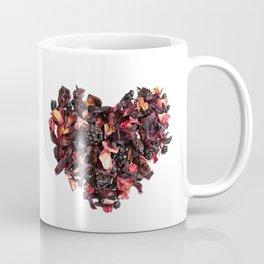 petals tea formed in heart shape Coffee Mug