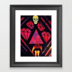 cult of cruelty Framed Art Print