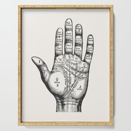 Palmistry Serving Tray