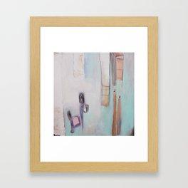 mint love. Framed Art Print