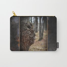 Face in Tree ~ What You See  Carry-All Pouch