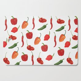 The Spice of Life Cutting Board