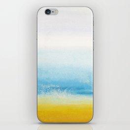 Waves and memories iPhone Skin