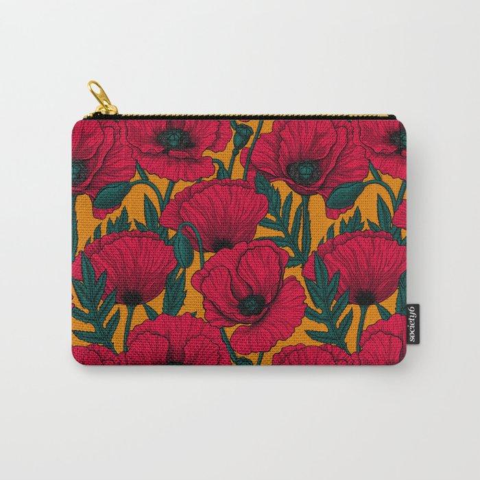 Red poppy garden    Tasche
