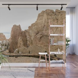 Smith Rock Oregon Desert Sunset - Nature Photography Wall Mural