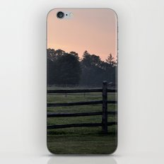 Billings Farm Sunrise at Woodstock, Vermont  iPhone & iPod Skin