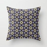 arab Throw Pillows featuring Arab #1 by Rafael CA