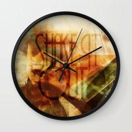 Shake It Out Wall Clock