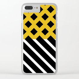 Hunter and prey Clear iPhone Case