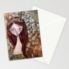 Flower Fawn Stationery Cards