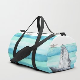In the middle of the ocean Duffle Bag