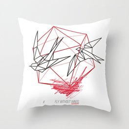 EXPERIMENTAL by Javier Codina Throw Pillow