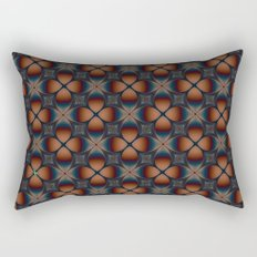Metallic Deco Copper Rectangular Pillow