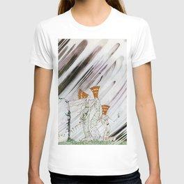 12,000pixel-500dpi - Kay Nielsen - Three Princesses Amazed By Snowstorm T-shirt