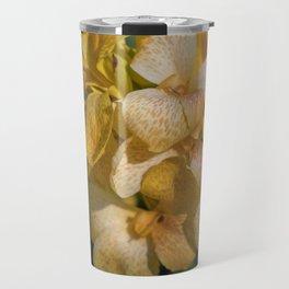 Yellow Iris Travel Mug