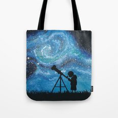 Observing the Universe Tote Bag