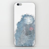 beast iPhone & iPod Skins featuring Beast by Morag Hood