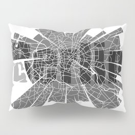 Berlin Map Pillow Sham