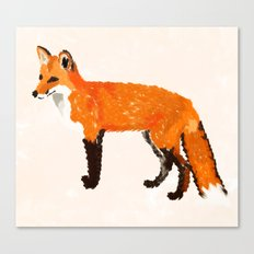 FOX: THE RED BANDIT Canvas Print