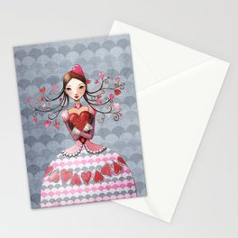 queenofhearts II. Stationery Cards