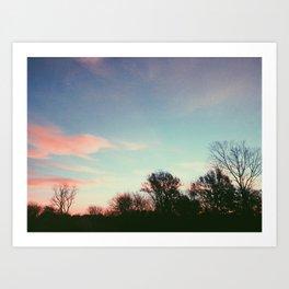 sunscape Art Print