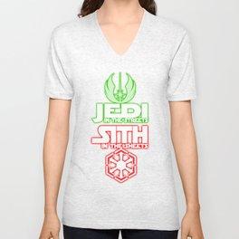 Jedi In The Streets Unisex V-Neck