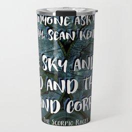 The Scorpio Races Travel Mug