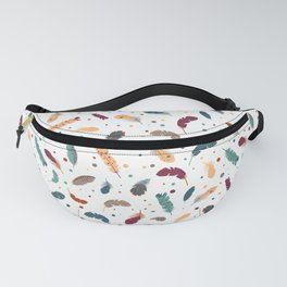 Bird feathers Fanny Pack