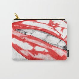 Hot Lips Scarlet Carry-All Pouch