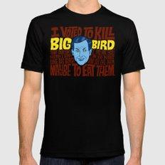 Voted to Kill Big Bird MEDIUM Mens Fitted Tee Black