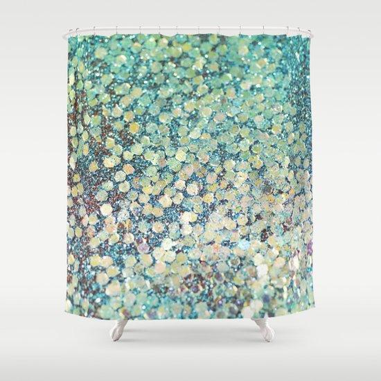 Nice Mermaid Scales Shower Curtain