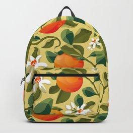 Summer Orange Backpack