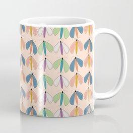 Summer Night Flutters   Peach Coffee Mug