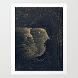 The Blinding Art Print