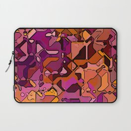 Abstract segmented 3 Laptop Sleeve