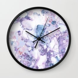 Painted Marble Texture Wall Clock
