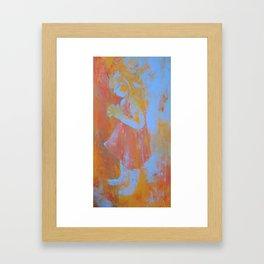Palette Knife Sketch Framed Art Print