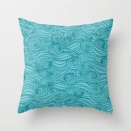 Cyclone Throw Pillow