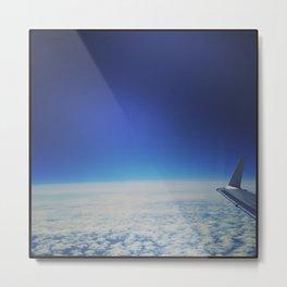 flying Metal Print