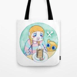 Umie & Mochi V Tote Bag