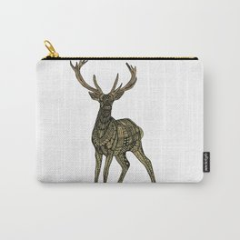 Tangled Golden Deer Carry-All Pouch