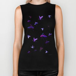 Night Flies Biker Tank