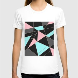 Abstraction . 5 geometric pattern T-shirt