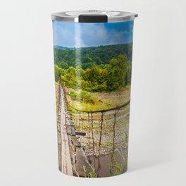 suspension bridge Travel Mug