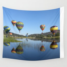 Bear Valley Reflection Wall Tapestry